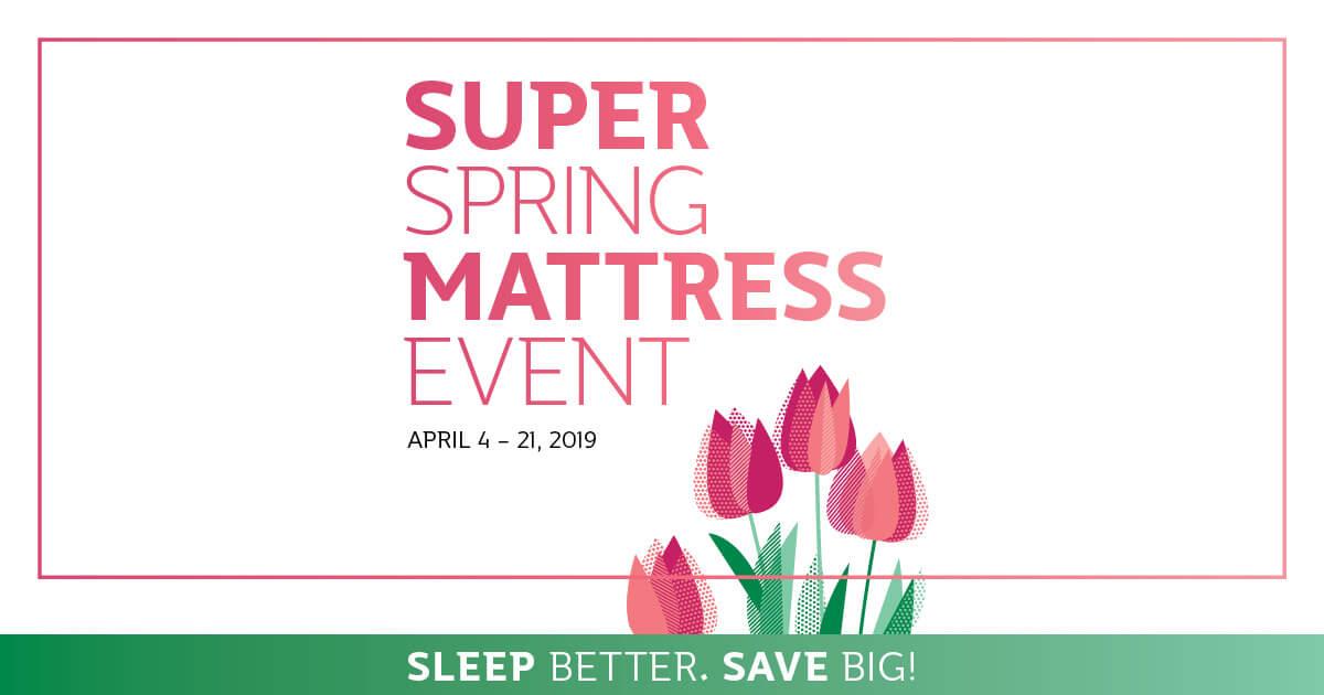 Super Spring Mattress Event
