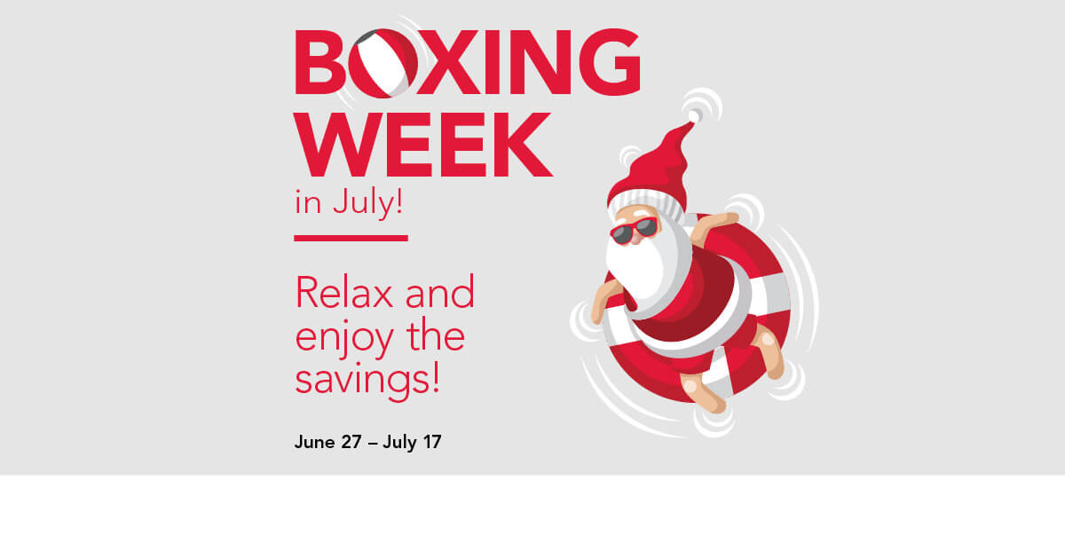 Boxing Week in July