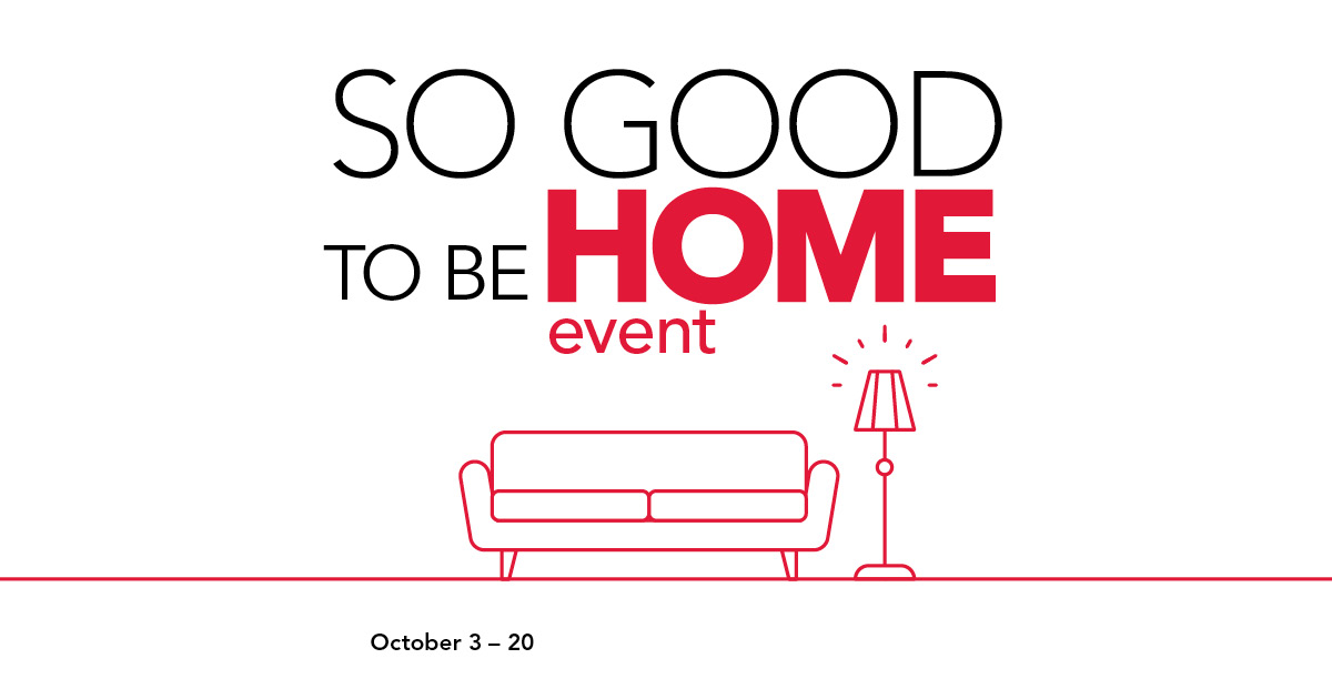 So Good To Be Home Event