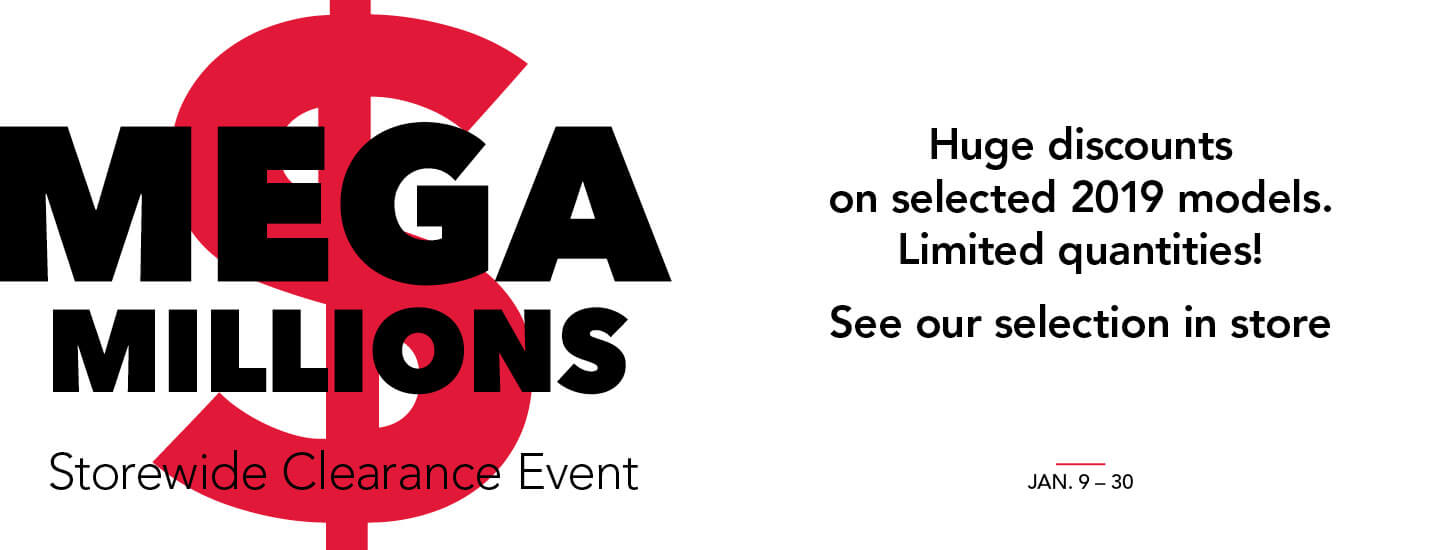 Mega Millions Storewide Clearance Event 2019
