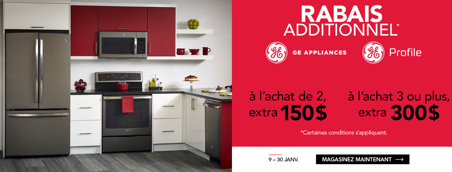 Offre exclusive GE
