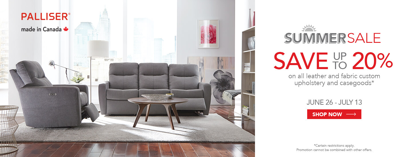 Palliser Summer Sale