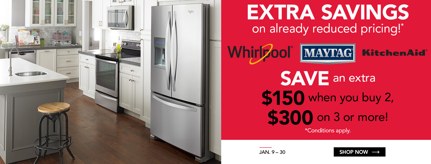 Whirlpool/Maytag Exclusive Offer