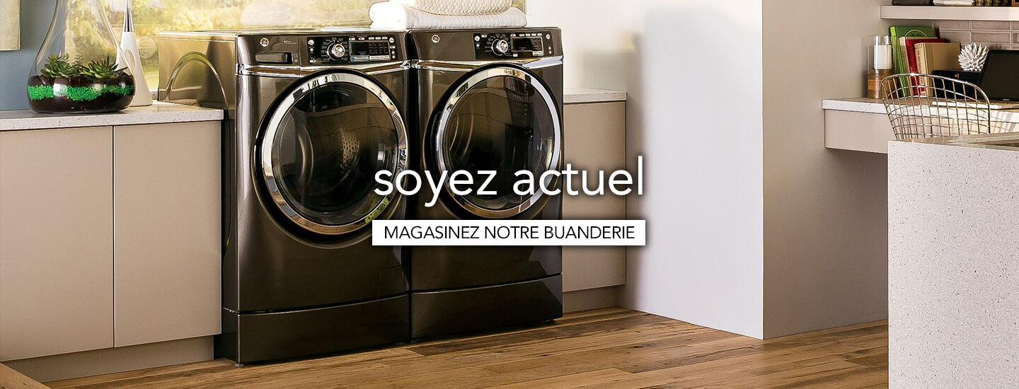 Magasiner les �lectrom�nagers de buanderie