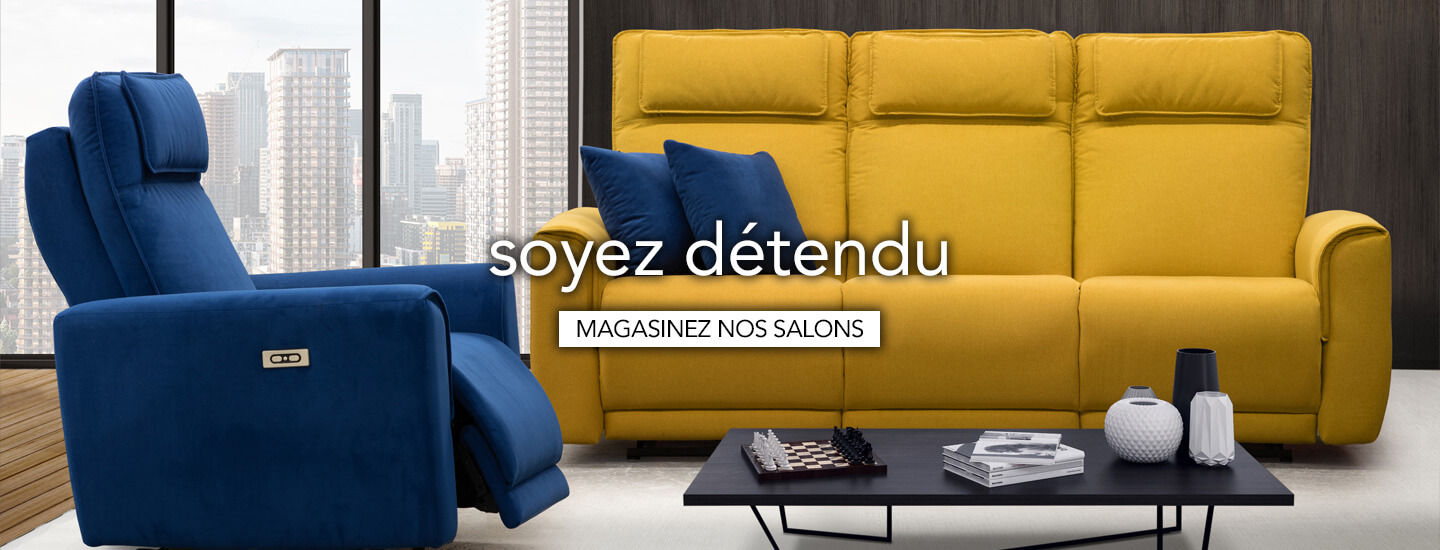 Magasiner les meubles de salon