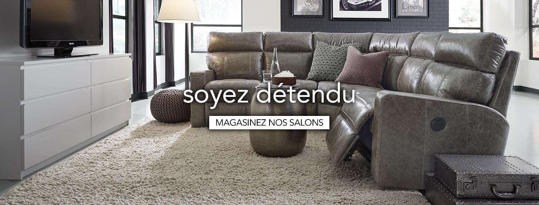 Magasiner les meubles de salon
