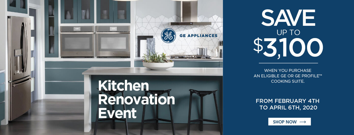 GE Kitchen Renovation Event