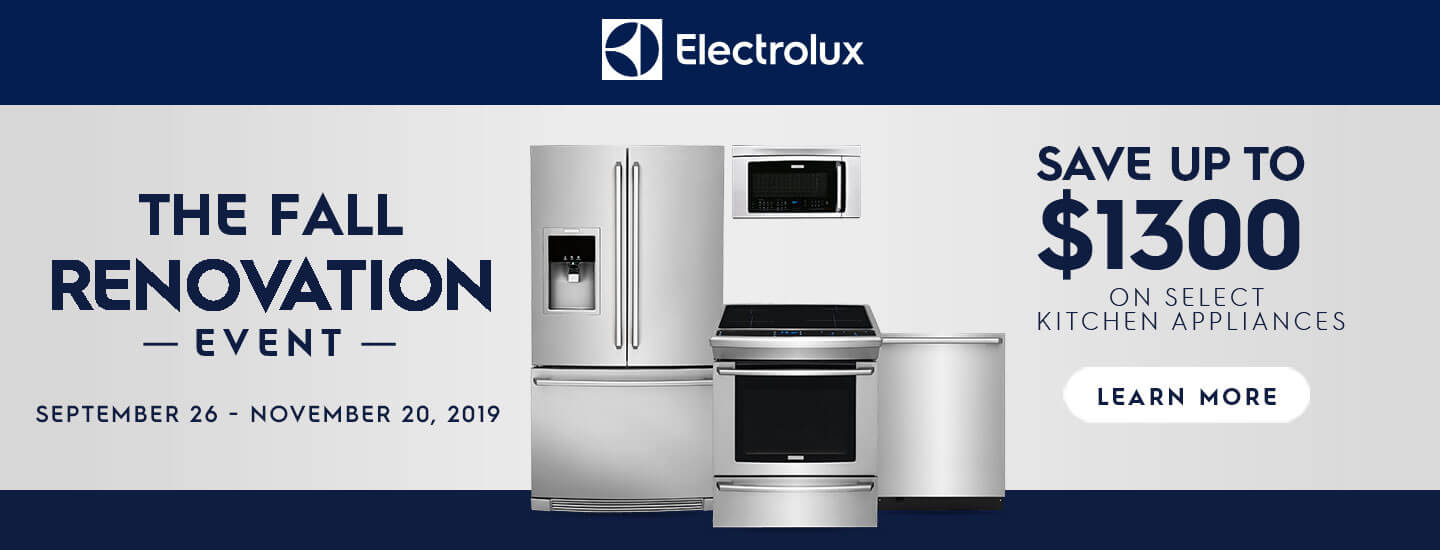 Electrolux Fall Renovation Event