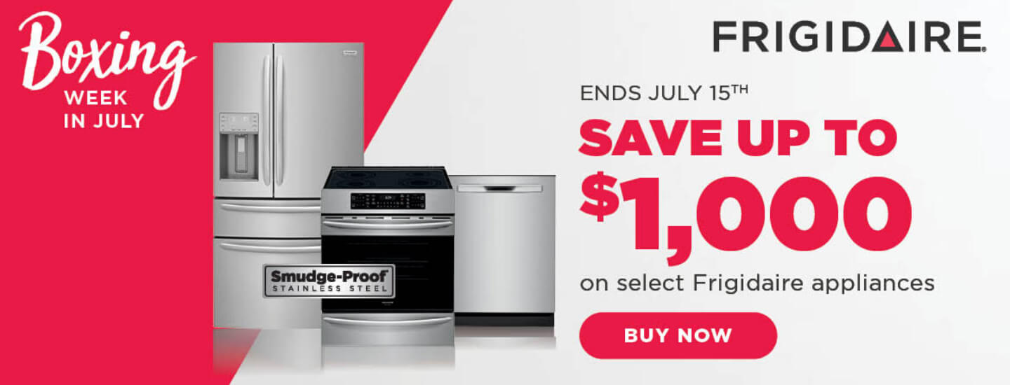 Frigidaire Boxing Week in July