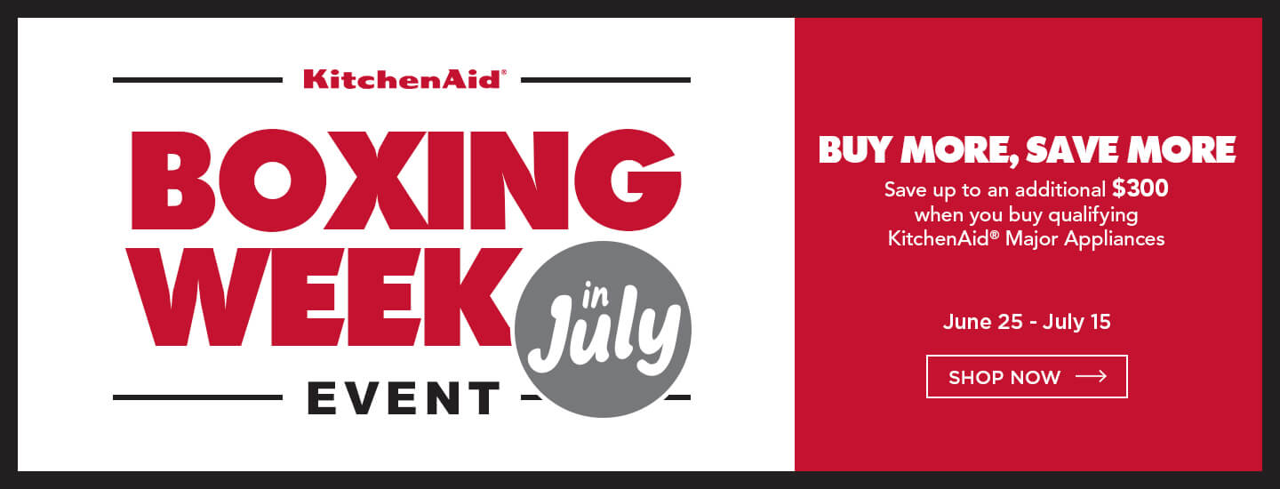 KitchenAid Boxing Week in July