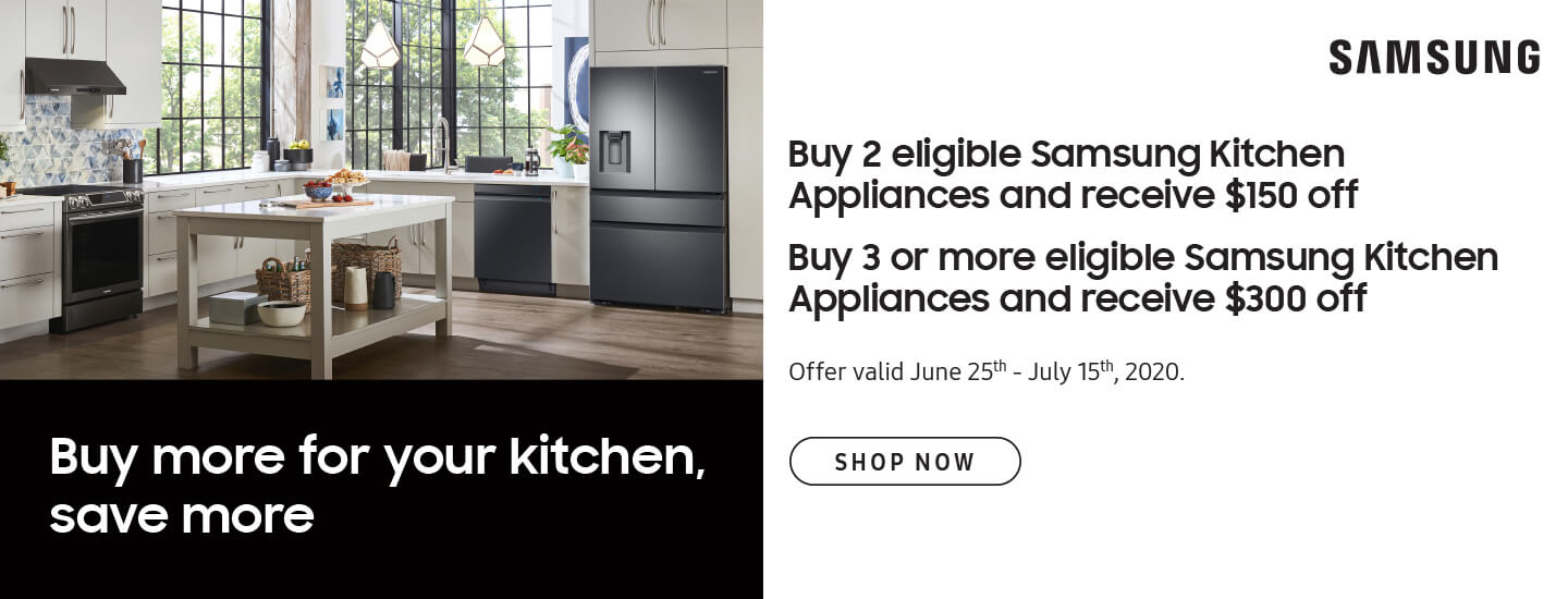 Samsung Buy more for your kitchen