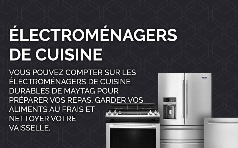 Électroménagers de cuisine Maytag