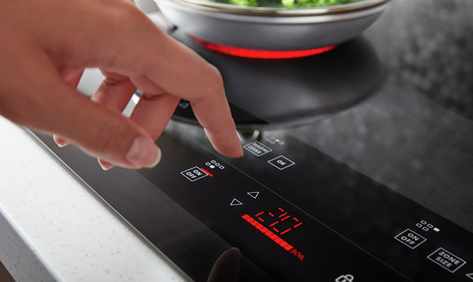 COOKTOP - FLEXHEAT™ DUAL RADIAL ELEMENT