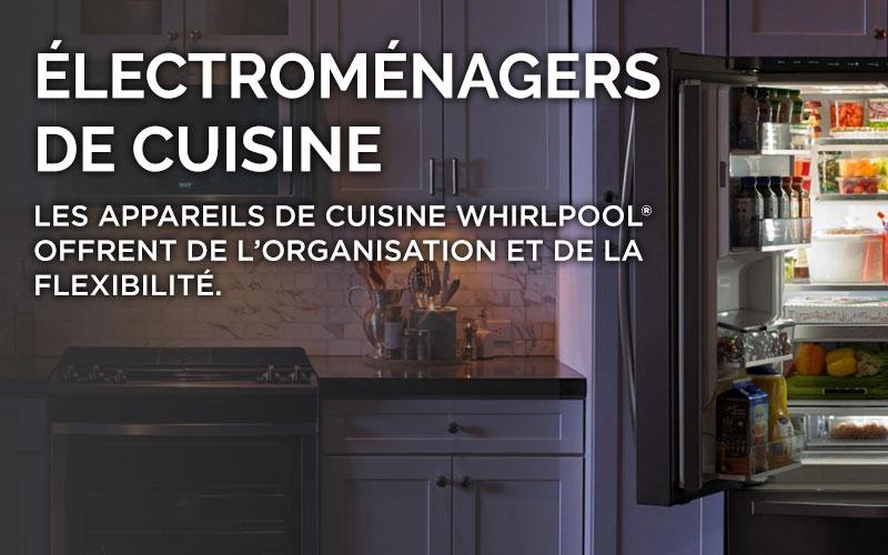 Électroménagers de cuisine Whirlpool